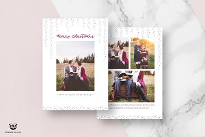 Christmas Card Template 03