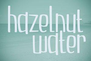 Hazelnut Water
