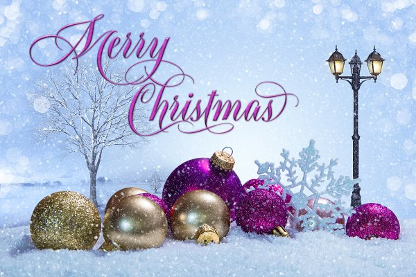 Christmas Scene With Ornaments High Quality Holiday Stock Photos Creative Market