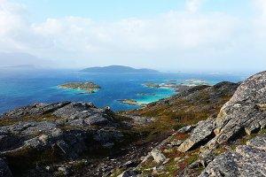 Summer Island Fjord