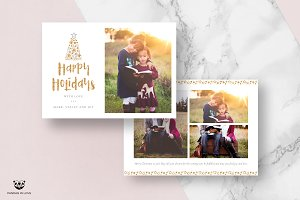 Holiday Card Template 05