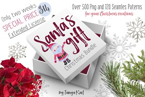 Santa`s Gift Christmas Bundle $14