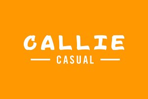 Callie Casual | Sign Font