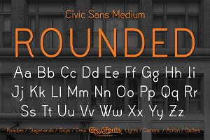 Civic Sans Medium Rounded