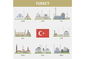 Cities of Turkey