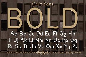 Civic Sans Bold