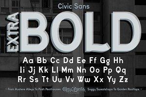 Civic Sans Extra Bold