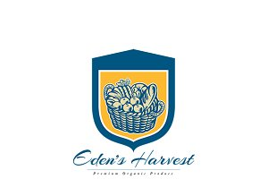 Eden's Harvest Organic Produce Logo