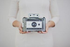 Vintage Polaroid Camera