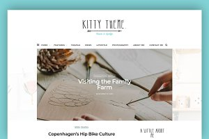 Kitty - A Blog WordPress Theme