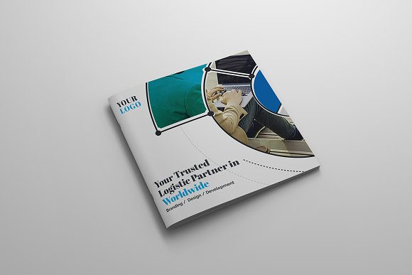 Square Bi-Fold-Graphicriver中文最全的素材分享平台
