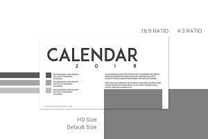 Calendar 2018 - Classic Grey