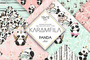 Cute Panda Patterns