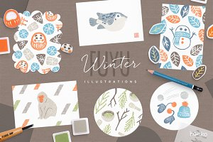 FUYU Winter Hanko Collection
