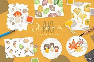 AKI Autumnal Hanko Collection