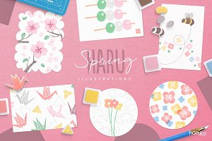 HARU Spring Hanko Collection