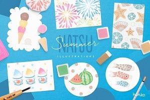 NATSU Summer Hanko Collection