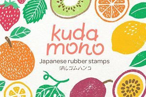 KUDAMONO Fruit Stamps