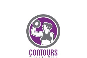 Contours Fitness For Women Logo