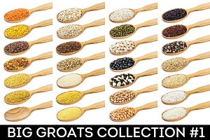 Different groats collection #1