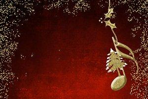 Christmas musical poster.