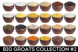 Different groats collection #2
