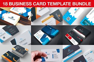 Business Card Template Bundle