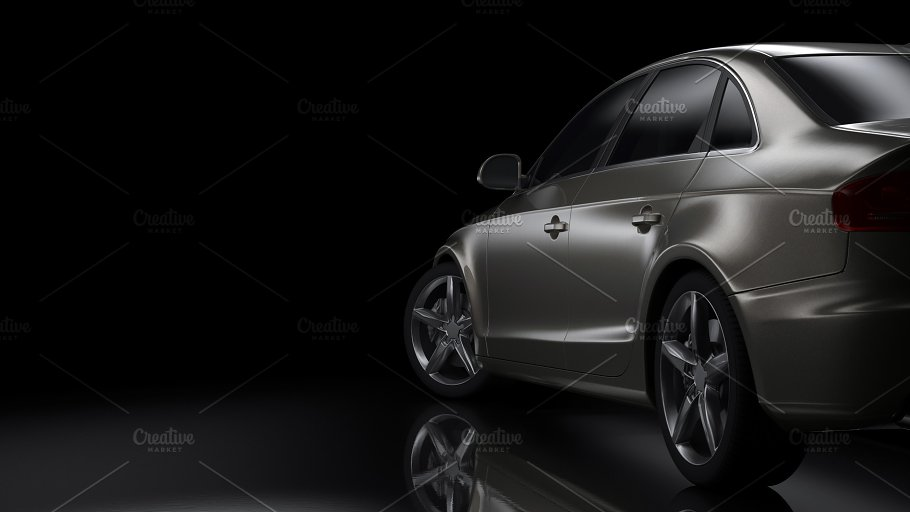 Dark Background Car Silhouette Transportation Photos Creative Market
