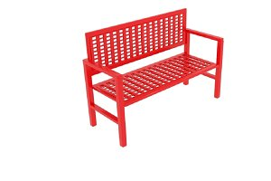 Wireframe Bench