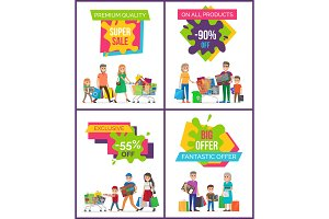 Super Sale Premium Quality Vector Illustration