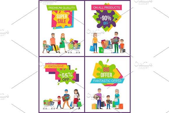 Super Sale Premium Quality Vector Illustration