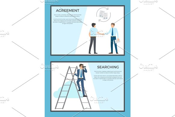 Agreement and Searching Collection of Posters