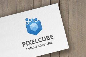 Pixel Cube Logo