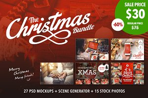 Christmas Mockup Bundle - OFF 60%