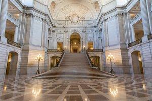 San Francisco City Hall Interiors