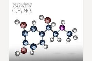 Adrenaline Molecule Image
