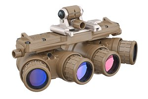 Night military goggles