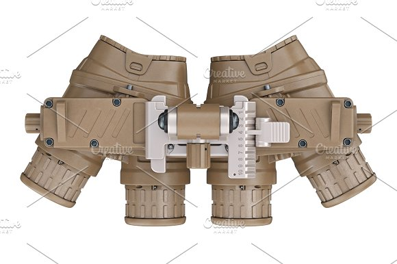 Night Military Device Top View