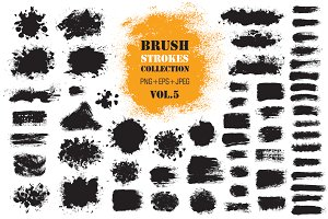 Brush Strokes Collection Vol.5