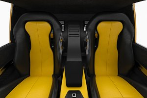 Car interior seat