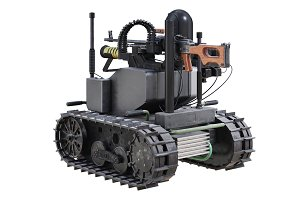 Military robot vehicle