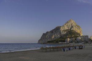 Calpe (Alicante, Spain).