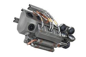 Sci-fi motor steel