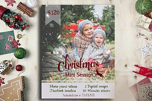 Christmas Mini Session Template - Ch