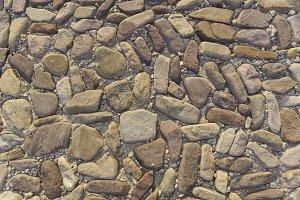 Texture of stones.