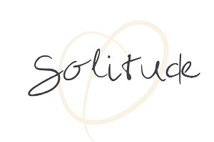 Solitude Handwritten Font