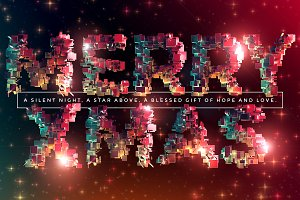 Merry Xmas – Fantastic 3D Type