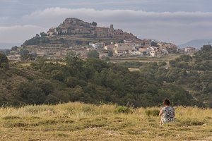 Girl in Culla (Castellon).