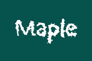 Maple Handwritten Font