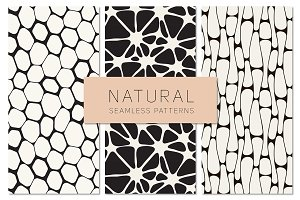 Natural Seamless Patterns Set 2